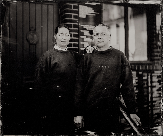 """10x12"""" Ambrotype by Jack Lowe"""