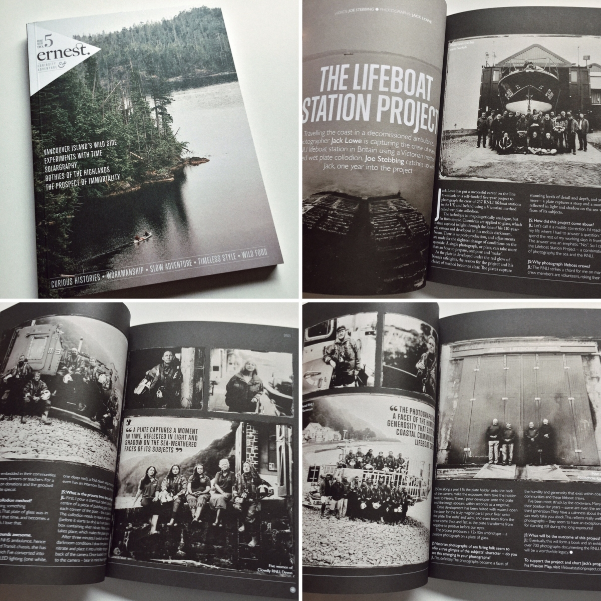 The Lifeboat Station Project by Jack Lowe in Ernest Journal
