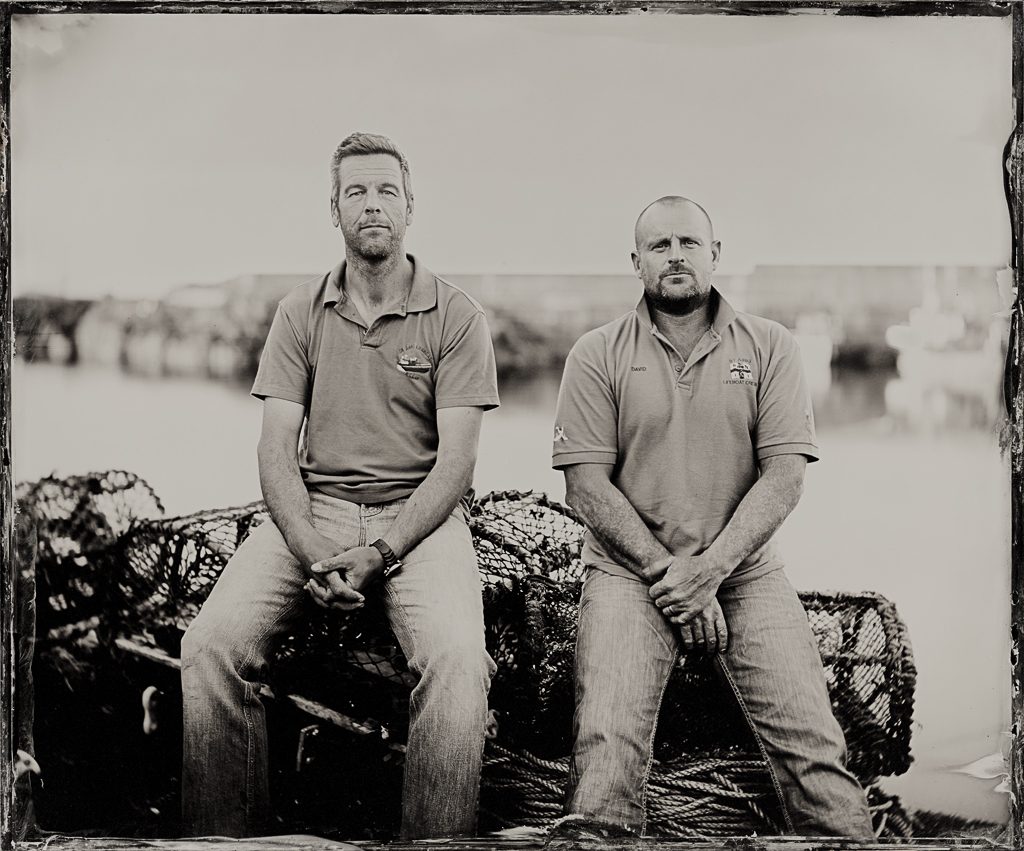 12x10 inch Clear Glass Ambrotype by Jack Lowe