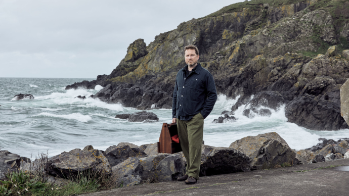 Jack Lowe photographed by Ben Benoliel for Nigel Cabourn