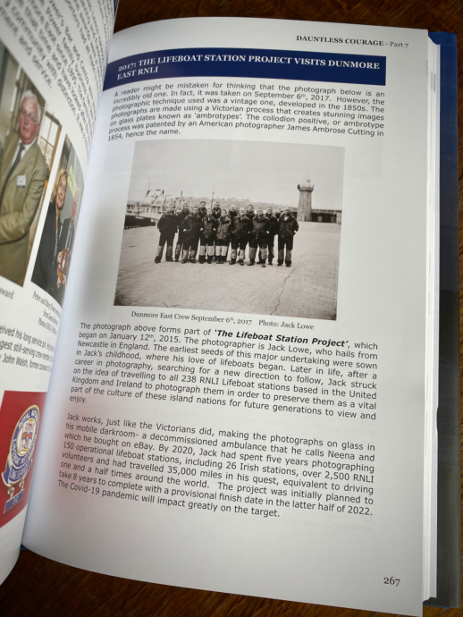 The Lifeboat Station Project in Dauntless Courage by David Carroll (p267)